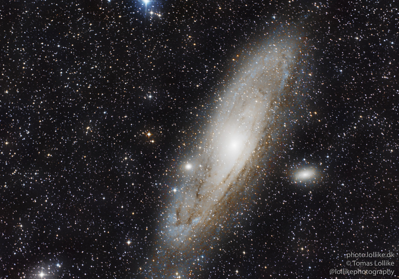 My best image of Andromeda yet!
