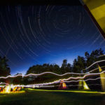 Startrails on Cottage trip with my daughter's class